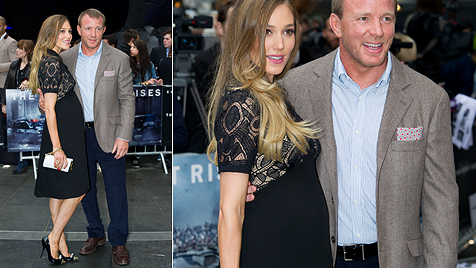 Guy Ritchies schöne Freundin bestätigt Schwangerschaft (Bild: AP)