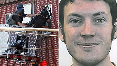 'Batman'-Killer legte in seinem Haus Sprengfallen (Bild: dapd/EPA)