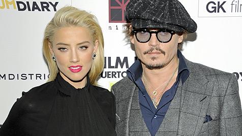 Johnny Depp: Schon wieder Schluss mit Amber Heard (Bild: dapd)