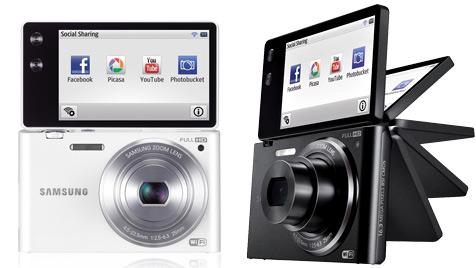 Neue Kompakte von Samsung reagiert auf Gesten (Bild: Samsung)