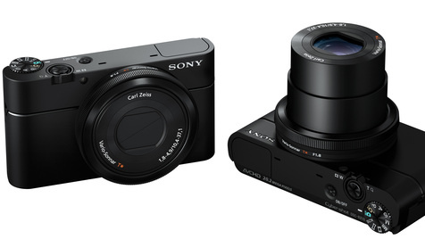 RX100: Kompakte mit extra großem Bildsensor im Test (Bild: Sony)
