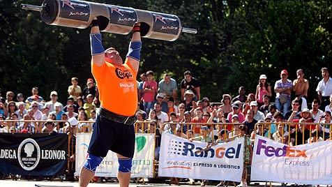 """Der """"Stärkste Mann der Welt"""" kommt aus Litauen (Bild: EPA)"""