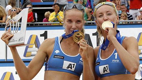 Überraschungssieg der Russinnen im Grand-Slam-Finale (Bild: APA/Gert Eggenberger)