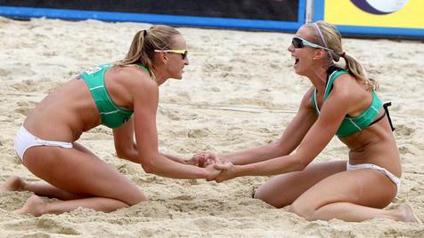 Überraschungssieg der Russinnen im Grand-Slam-Finale (Bild: Kronen Zeitung, Kuess)