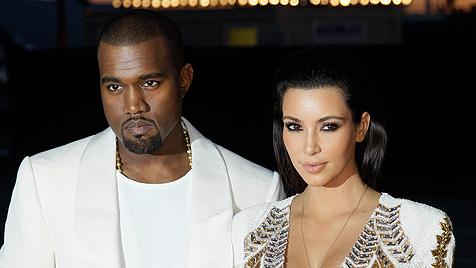 Kanye West gibt Verlobungsring für Kim in Auftrag (Bild: dapd)