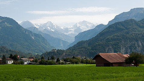 Kulinarisches Höhenerlebnis in der Schweiz (Bild: Elisabeth Stephan)