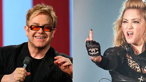 "Elton John schimpft Madonna ""Rummel-Stripperin"" (Bild: dapd)"