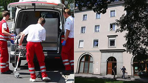 Zwei Kinder stürzen in Linz-Urfahr aus Fenster (Bild: APA/CHRISTIAN KLOIBHOFER)