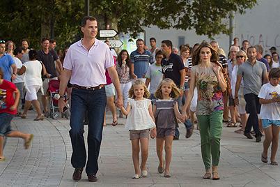 Steht Ehe von Felipe und Letizia vor dem Aus? (Bild: AFP)