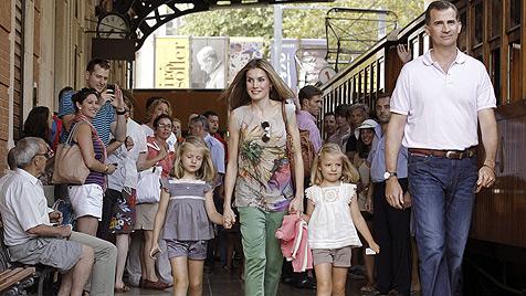 Steht Ehe von Felipe und Letizia vor dem Aus? (Bild: EPA)