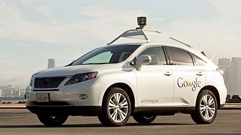 Roboterautos von Google 300.000 Meilen unfallfrei (Bild: Google)