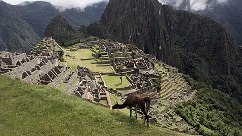 In Machu Picchu den Göttern der Inka ganz nahe sein (Bild: EPA)