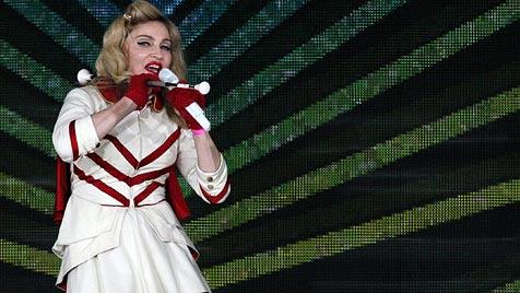 Russland: Strafe für Madonna nach Aufruf zur Toleranz? (Bild: EPA)