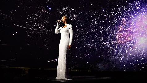 Beyonce drehte Musikvideo bei den Vereinten Nationen (Bild: AP)