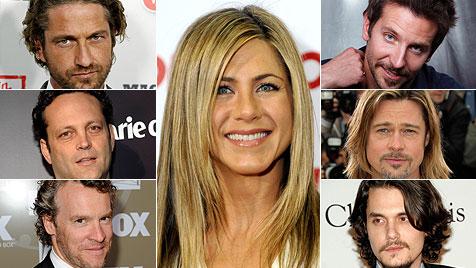"""Diese """"Frösche"""" musste Jennifer Aniston küssen (Bild: dapd)"""
