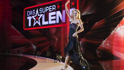 "Michelle Hunziker verletzt sich beim ""Supertalent"" (Bild: dapd)"