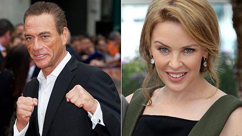 Van Damme gesteht Affäre mit Kylie Minogue (Bild: dapd)
