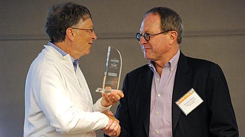 Bill Gates prämierte die besten Toiletten der Zukunft (Bild: EPA)