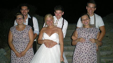 Drei Brüder aus OÖ heiraten drei Schwestern aus D (Bild: privat)