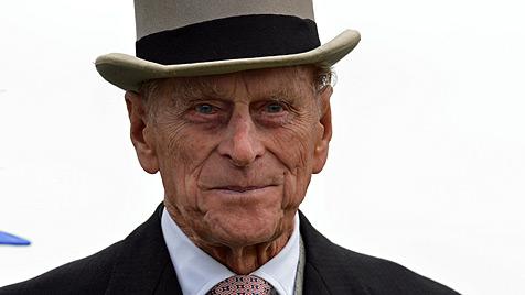 Britischer Prinz Philip auf dem Weg der Besserung (Bild: dapd)
