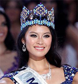 """Neue """"Miss World"""" kommt aus China - Dagi nicht im Finale (Bild: EPA)"""