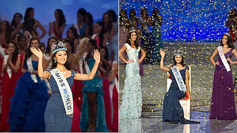 """Neue """"Miss World"""" kommt aus China - Dagi nicht im Finale (Bild: AFP)"""