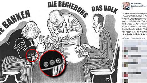 Ermittlungen gegen FPÖ-Chef Strache eingestellt (Bild: Facebook, Hervorhebung: krone.at)