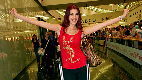 """Amina Dagi von der """"Miss World""""-Wahl zurück (Bild: Starpix/Alexander TUMA)"""