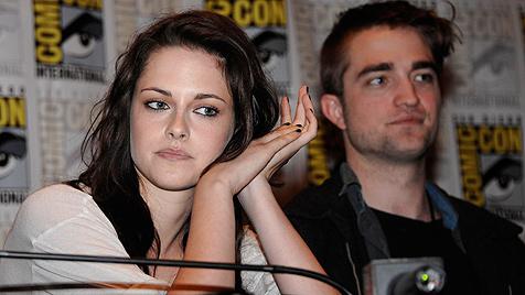 """Kristen und Robert bleiben """"Twilight""""-Convention fern (Bild: dapd)"""