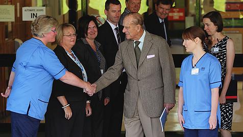 Prinz Philip aus Krankenhaus entlassen (Bild: dapd)