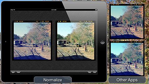 Anti-Instagram-App versetzt Bilder in Urzustand zurück (Bild: blog.joemacirowski.com, krone.at-Grafik)