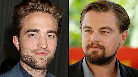 Leonardo DiCaprio will Robert Pattinson trösten (Bild: dapd)