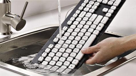 Logitech stellt neue abwaschbare Tastatur vor (Bild: Logitech)