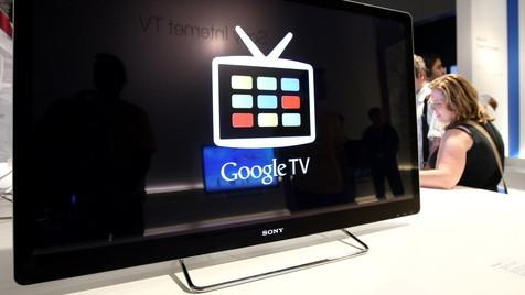 Sony bringt Google TV auf den Fernseher (Bild: Adam Berry/dapd)