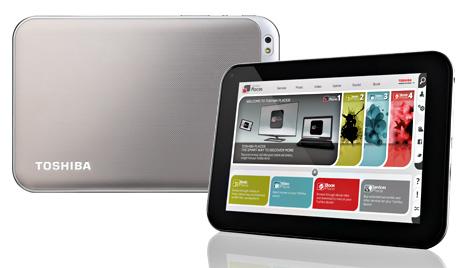 Toshiba erweitert Tablet-Palette um zwei neue Modelle (Bild: Toshiba, krone.at-Grafik)