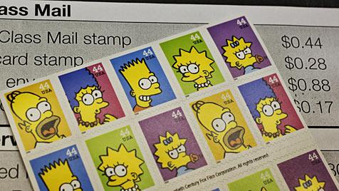 """US-Post vernichtete 682 Millionen """"Simpsons""""-Marken (Bild: AP)"""