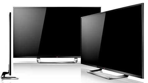 LG zeigt Fernseher mit vierfacher Full-HD-Auflösung (Bild: LG)
