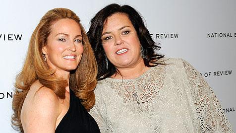 """US-Moderatorin Rosie O""""Donnell hat Freundin geheiratet (Bild: AP)"""