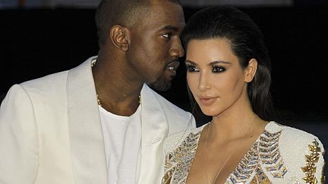 Kardashian will West mit Baby ihre Liebe beweisen (Bild: dapd)