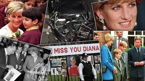 Der Mythos lebt: Vor 15 Jahren starb Prinzessin Diana (Bild: dapd, APA, EPA)