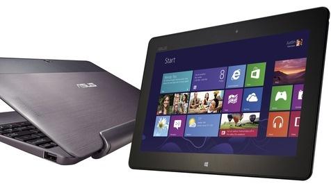 Hybriden im Trend: Tablet & Ultrabook verschmelzen (Bild: Asus)