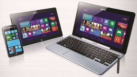 Samsung enthüllt erste Geräte für Windows 8 (Bild: Samsung)