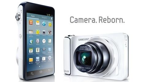 Samsung stellt Galaxy-Kamera mit Android und LTE vor (Bild: Samsung)