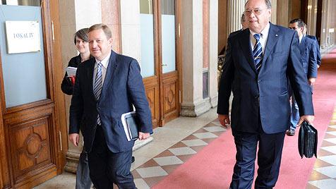 """""""Gesetzwidrigkeit"""" sorgt für verpatzten U-Ausschuss-Tag (Bild: APA/Helmut Fohringer)"""