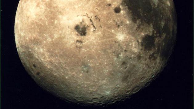 Erdmond könnte aus Mini-Monden entstanden sein (Bild: NASA/GSFC)