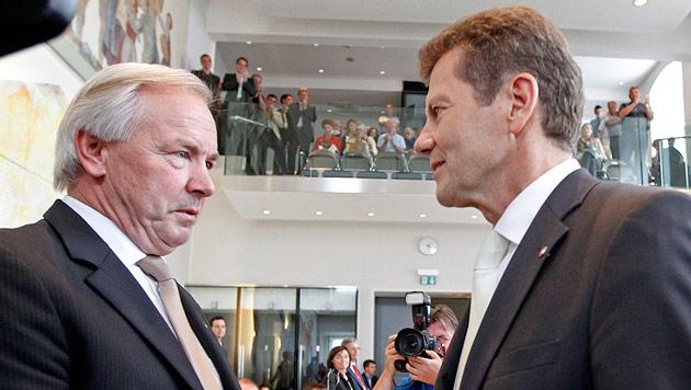 FPK knöpft Waldner Gewerbe-Referat und Wirtschaft ab (Bild: APA/GERT EGGENBERGER)