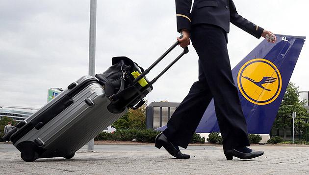 Lufthansa und Piloten legten Tarifstreit bei (Bild: dpa/Frank Rumpenhorst)