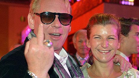 So heiratete Schauspieler Ben Becker in Goldegg (Bild: APA/Barbara Gindl)