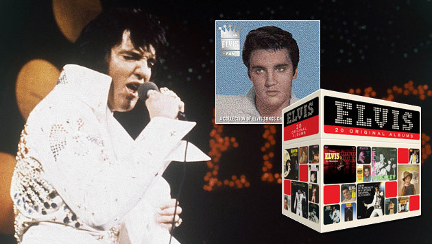"Elvis-Presley-Box-Set mit 20 Original-Alben des ""King"" (Bild: dapd)"