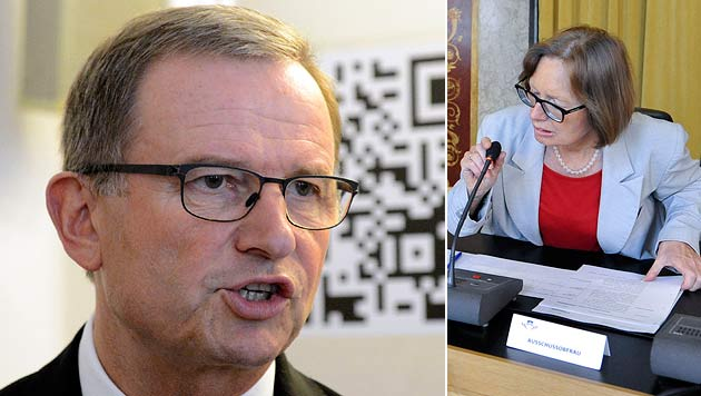 """Kopf greift Moser frontal an: Rücktritt wäre """"gute Tat"""" (Bild: APA/HELMUT FOHRINGER/HERBERT NEUBAUER)"""